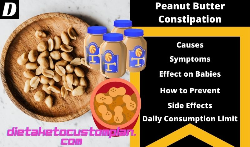Can peanut butter cause constipation